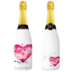 Champagne personnalisé thème anniversaire