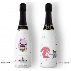 Champagne personnalisé Une Vie à Deux