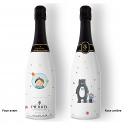 Champagne personnalisé Petite Fille