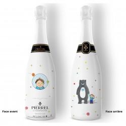 Champagne personnalisé Petit Garçon
