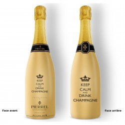 keep calm and drink champagne !