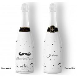 Champagne personnalisé Fête des Pères